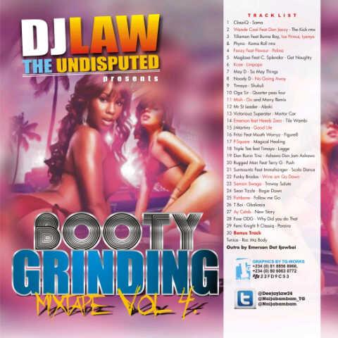 Dj Law Mixtape Vol 4 Artwork